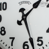 industriele fabrieksklok vintage klok