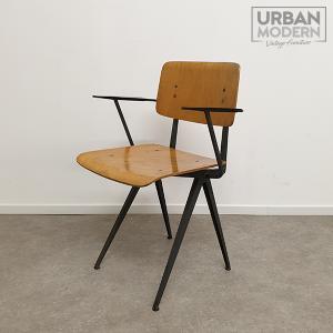 marko schoolstoel vintage stoel
