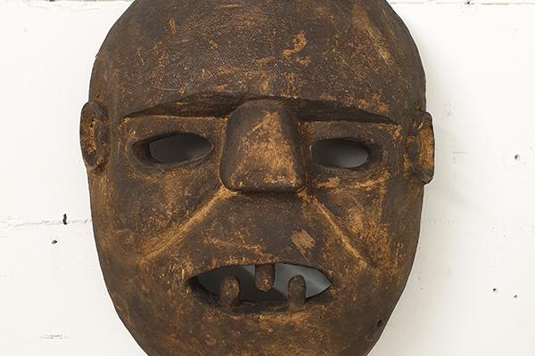 afrikaans masker vintage kunst