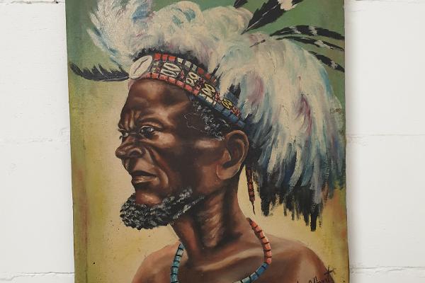 schilderij dombé albert 50s