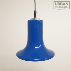 peill & putzler blauw glazen hanglamp